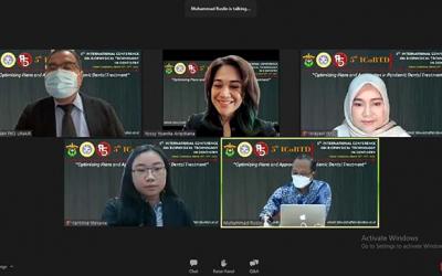 FKG Unhas Gelar Virtual Konferensi ICoBTD Hadirkan Narasumber dari 8 Negara
