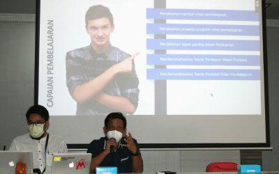 FKG Unhas Gelar Pelatihan Pembuatan Media Pembelajaran
