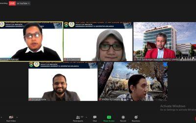 FKG Unhas dan FKG Unair Kerja Sama Gelar Virtual Internasional Symposium Series #8