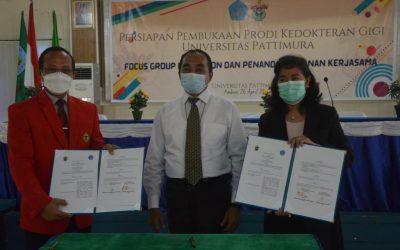 FKG Unhas dan FK Unpatti Sepakat Kerjasama Pembukaan Prodi Kedokteran Gigi Unpatti