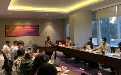 Ikut FGD Akreditasi Internasional, Ini Pesan Dekan FKG Unhas