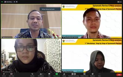 FKG Unhas Gelar Workshop Systematic Review & Meta – Analysis Seri 1